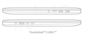 ASUS ZenBook Pro 15 UX580GE - portas
